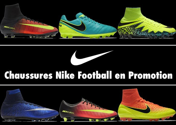 12 Chaussures de Football Nike en Promotion