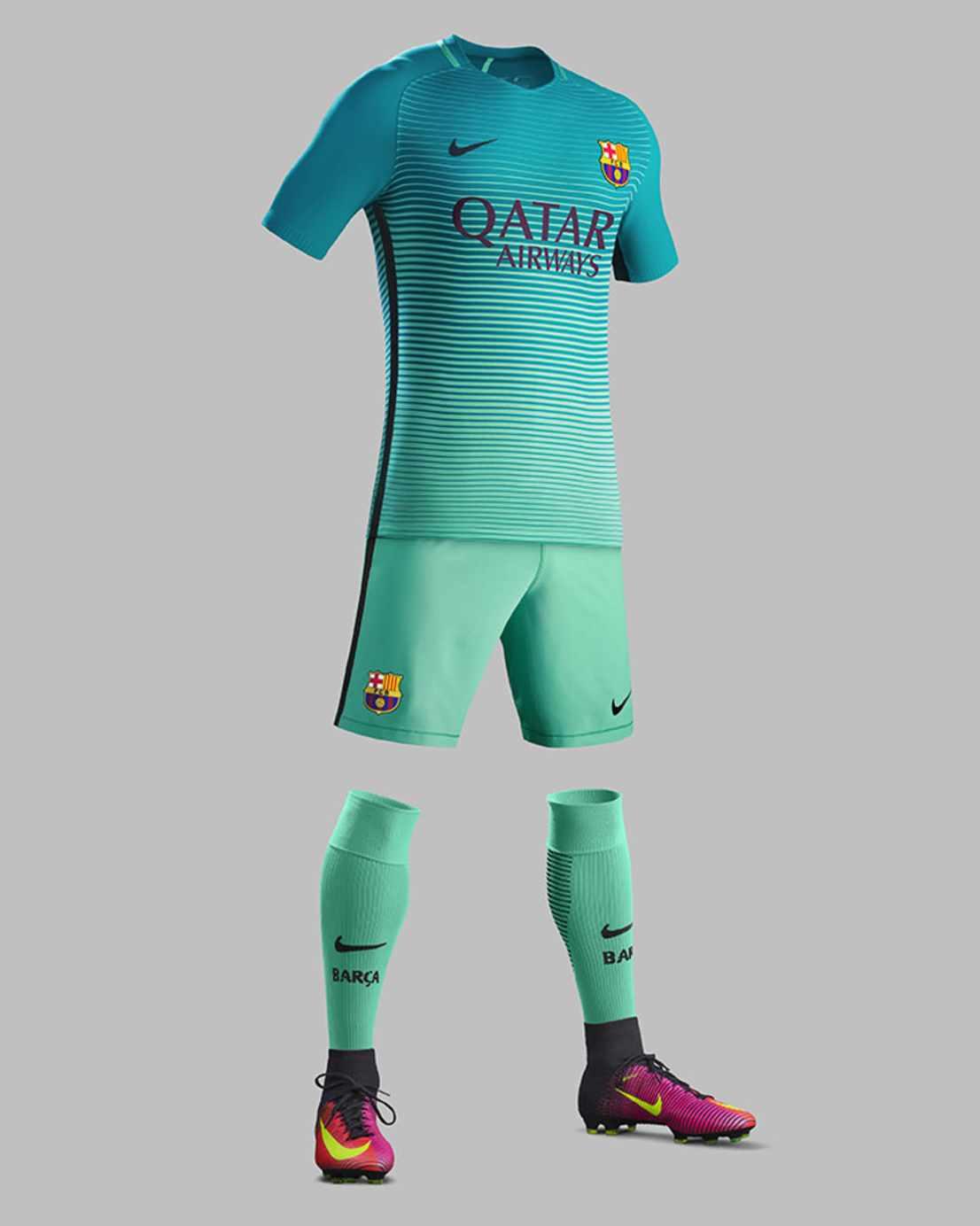 3ème tenue officielle du FC Barcelone Saison 2016-2017
