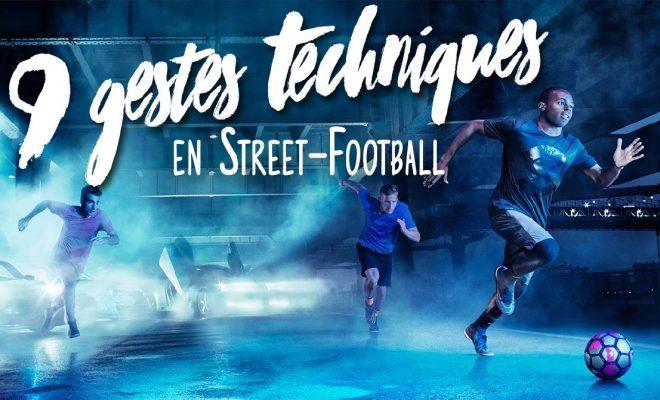 Video gestes techniques et dribbles en street football