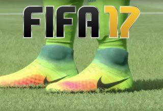 FIFA17: Les crampons de foot dévoilés