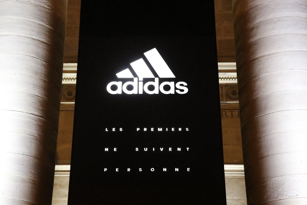 stadium of lights adidas au palais brongniart