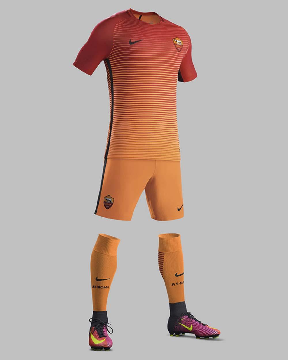 troisième tenue as rome 2016-2017