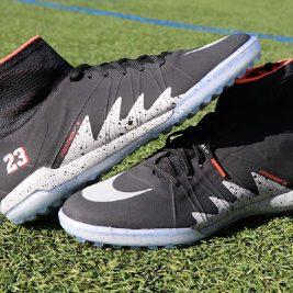 test chaussure foot nike hypervenomx proximo tf neymar jordan