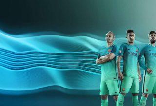 FC Barcelone le troisième maillot Nike de la saison 2016-2017 dévoilé
