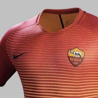 Le troisième maillot de l'AS Roma 2016-2017 dévoilé