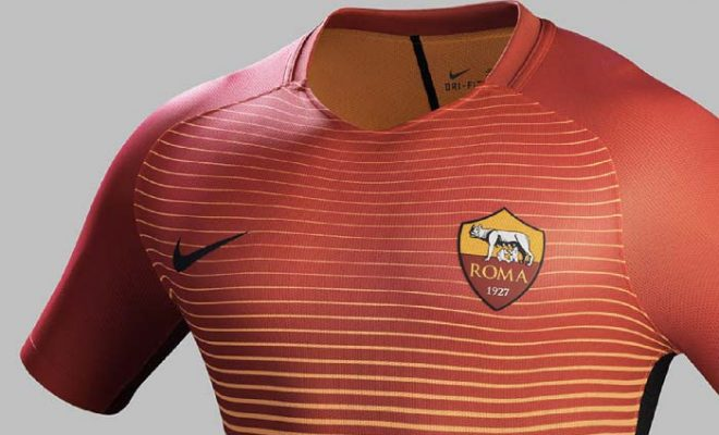 ensemble de foot ROMA Tenue de match