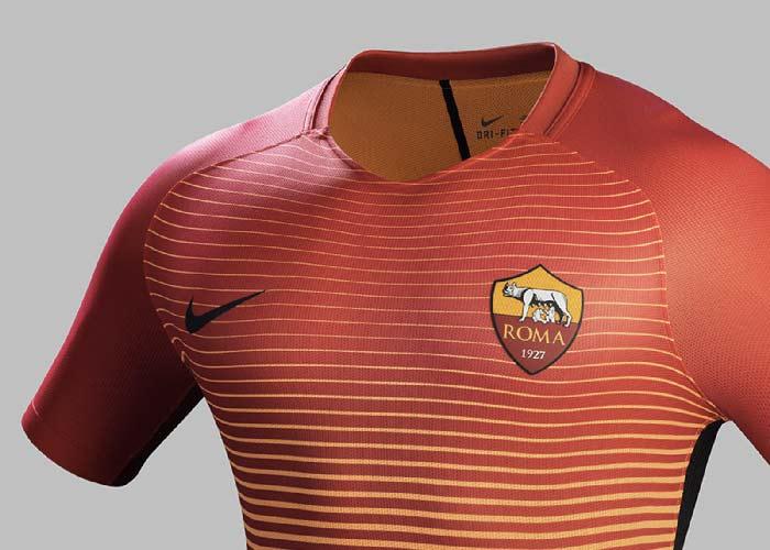 troisième maillot Nike de l'équipe AS Roma Saison 2016-2017