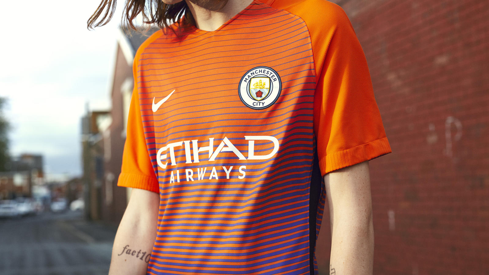 Maillot Third de Manchester City 2016-2017