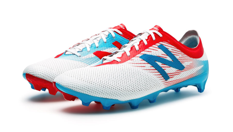Chaussure de football New Balance Furon 2 Pro FG atomic White Barracuda