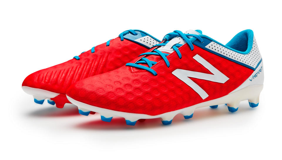 Chaussure de football New Balance Visaro Pro FG atomic White Barracuda
