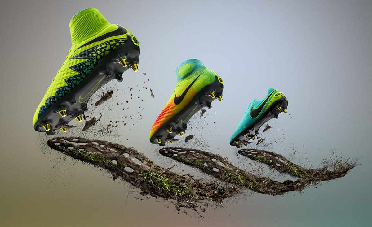 nike football presente la revolution de la traction système anti-boue