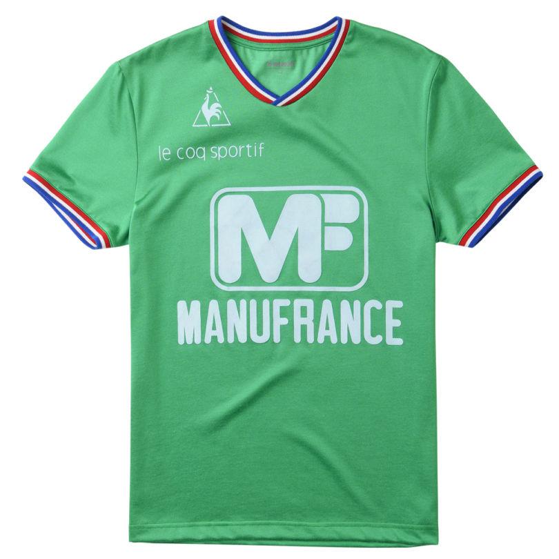 """Réédition Maillot ASSE """"Manufrance"""" - Le Coq Sportif"""