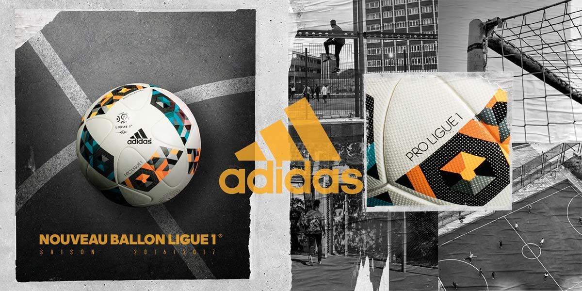adidas présente le nouveau ballon de la ligue 1