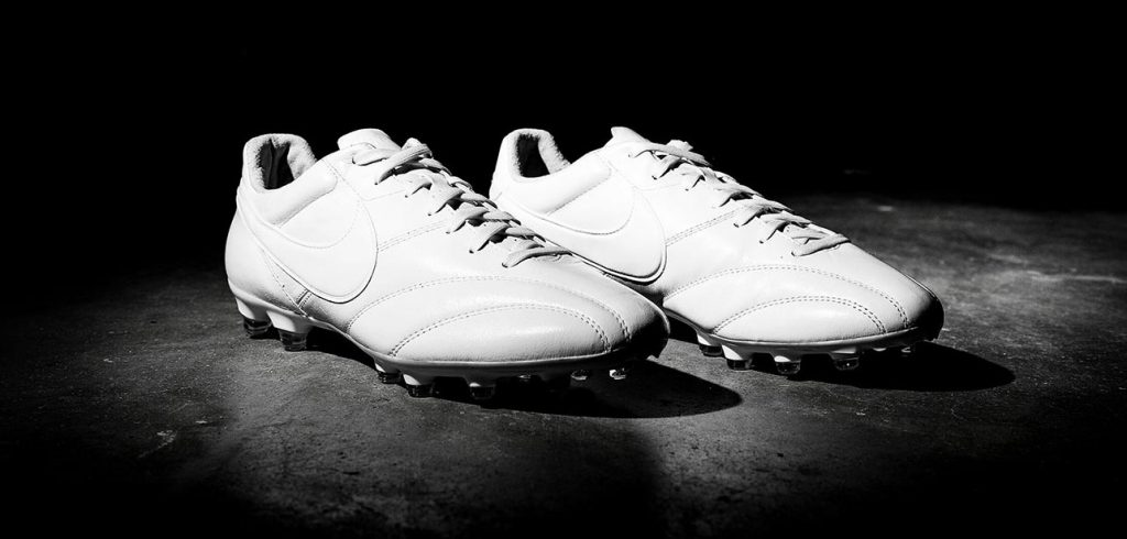 Nike Tiempo Premier blanc