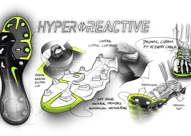 Nouvelle plaque Hyper Reactive Nike Hypervenom 3