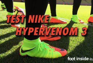 Nike Hypervenom 3 : Journée Test à Monaco