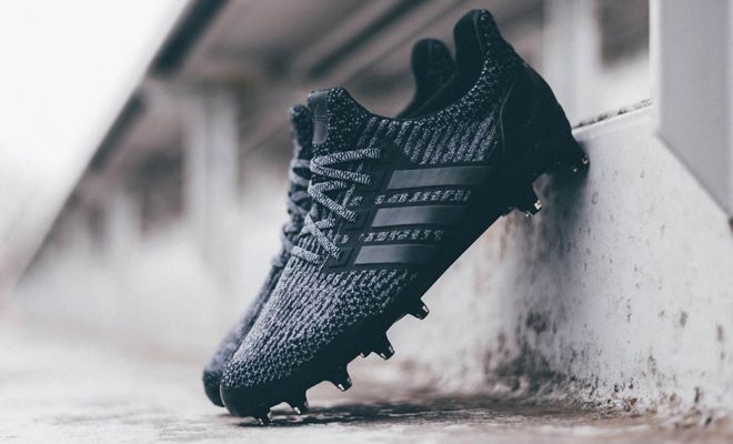 adidas ultra boost cleats triple black