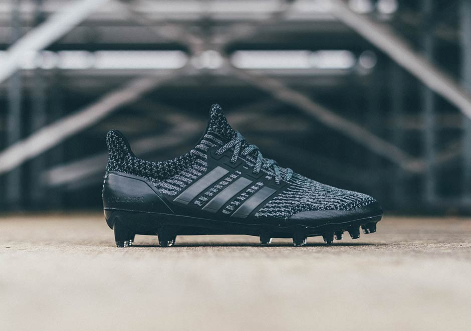 crampons adidas ultra boost cleats black