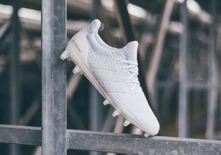 adidas ultra boost cleats triple white