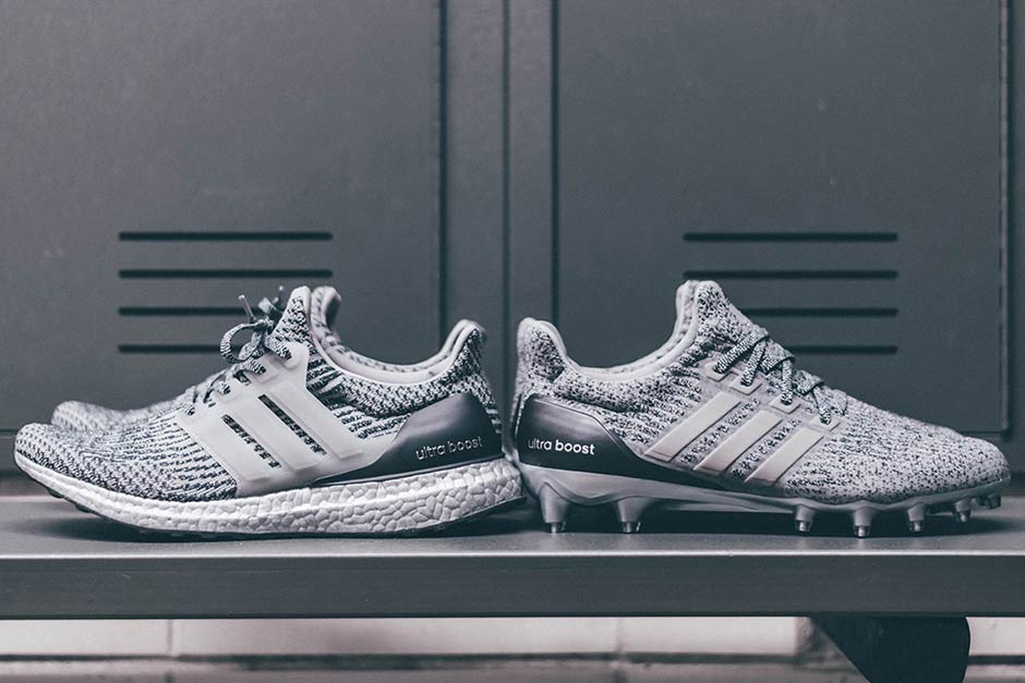 adidas ultra boost cleats grey