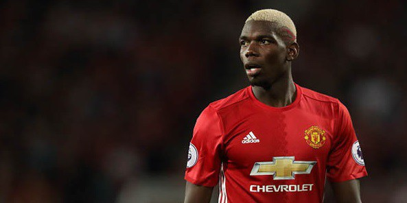 Paul Pogba adidas Manchester United