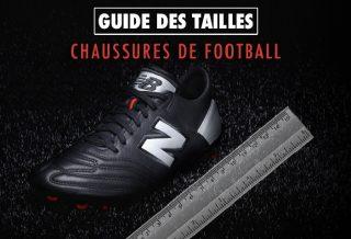 Guide des Tailles Chaussures de Football