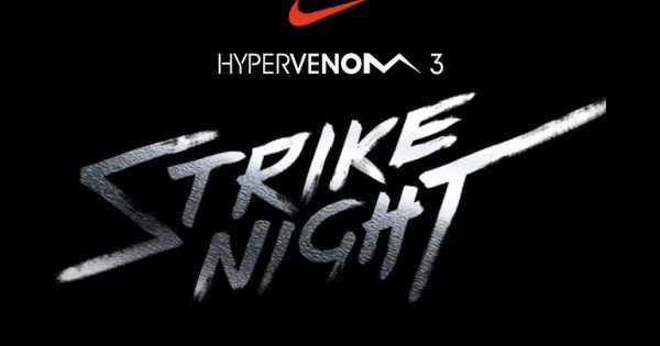 Nike Strike Night Hypervenom 3