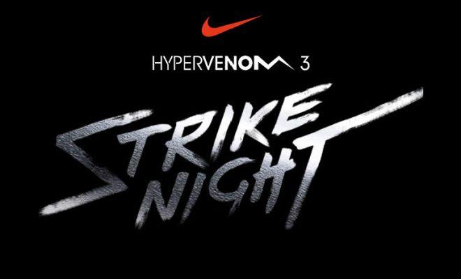 Nike Strike Night Hypervenom 3