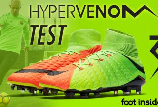 Test Nike Hypervenom Phantom 3 DF à Barcelone