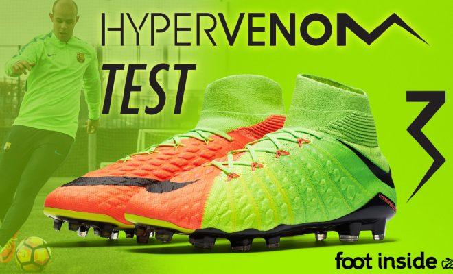 Vidéo Test Nike Hypervenom Phantom 3 DF à Barcelone