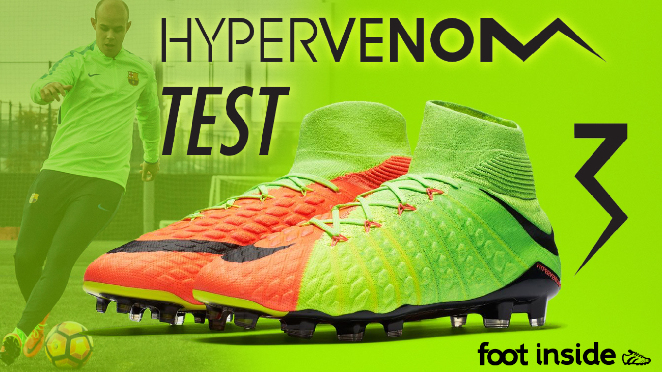 Test Nike Hypervenom Phantom 3 DF à Barcelone | Foot Inside
