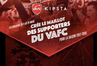 Jeu Concours Kipsta VAFC Maillot 2017-2018
