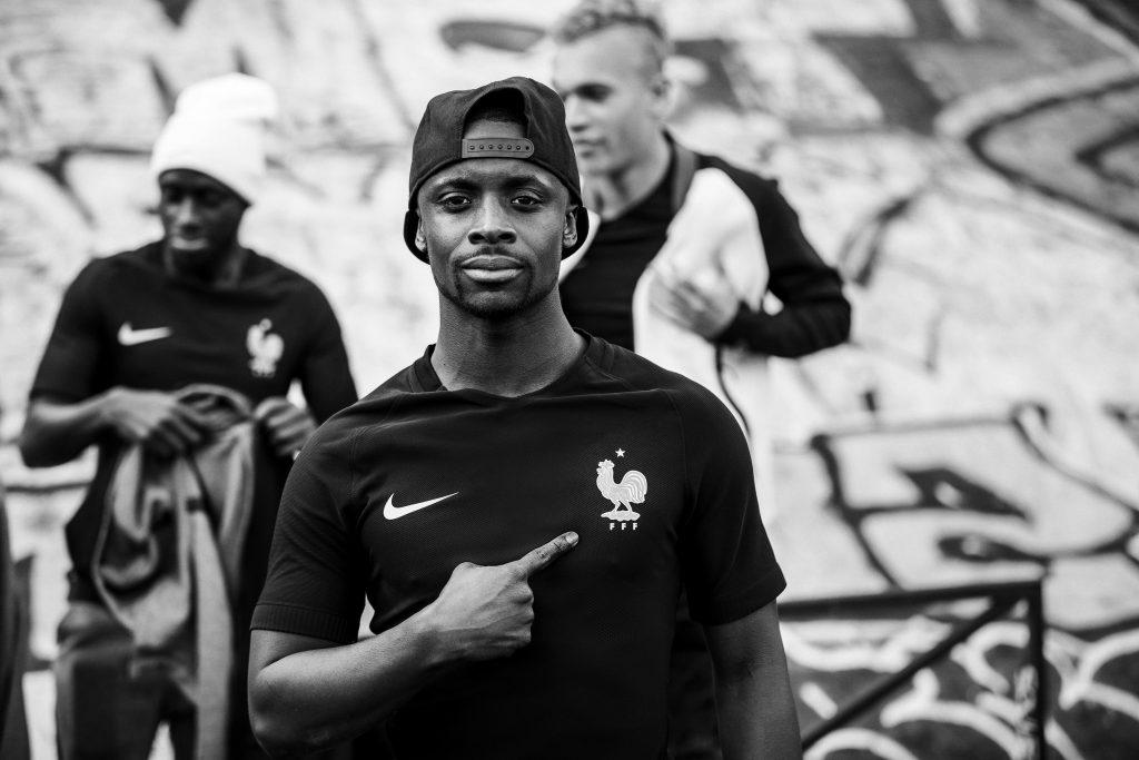 FFF Equipe de France Maillot Black