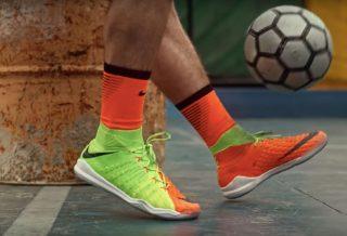 Video Street Soccer : Nike HypervenomX
