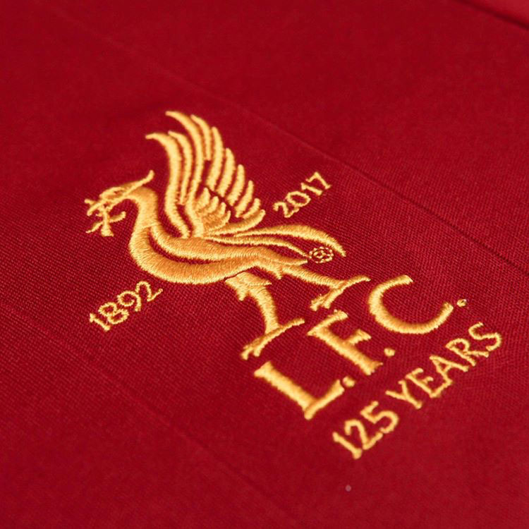 Logo Liverpool FC 125 ans du Club