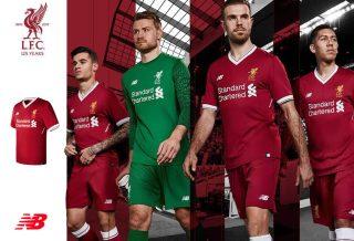 New Balance présente le maillot domicile 2017-18 de Liverpool