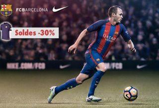 Maillot de Foot FC Barcelone en Soldes