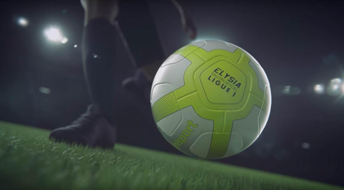 uhlsports d voile elysia le nouveau ballon officiel de la ligue 1 foot inside. Black Bedroom Furniture Sets. Home Design Ideas