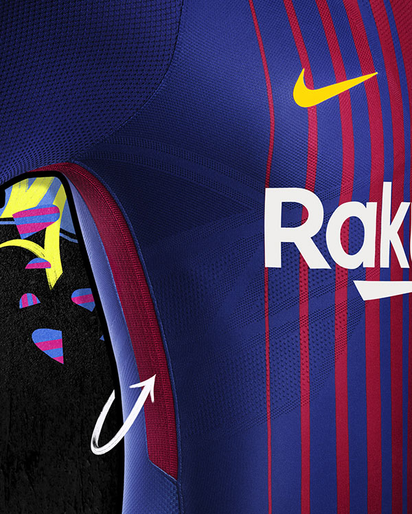 Home kit jersey FC Barca 2018