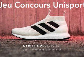 Jeu Concours Unisport : adidas ACE 16+ UltraBOOST