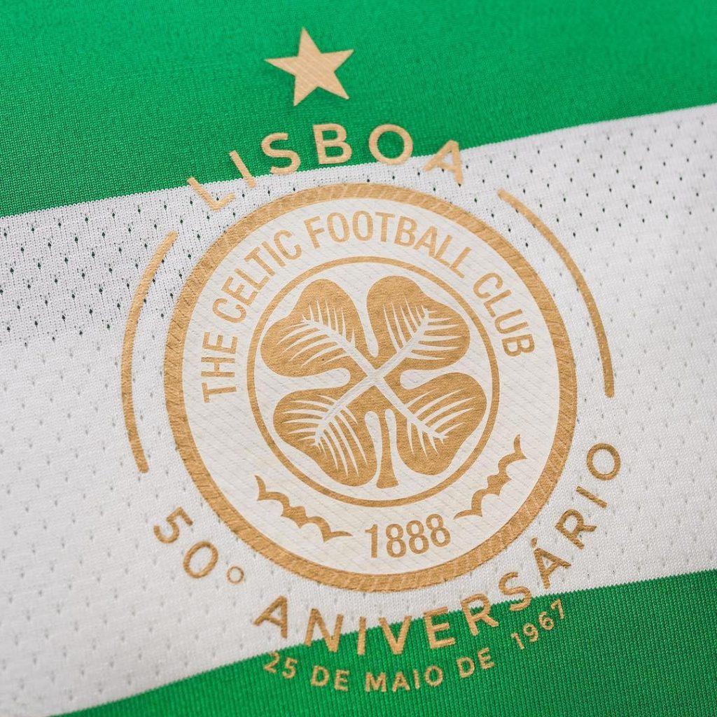 Logo Celtic Glasgow 50eme anniversaire