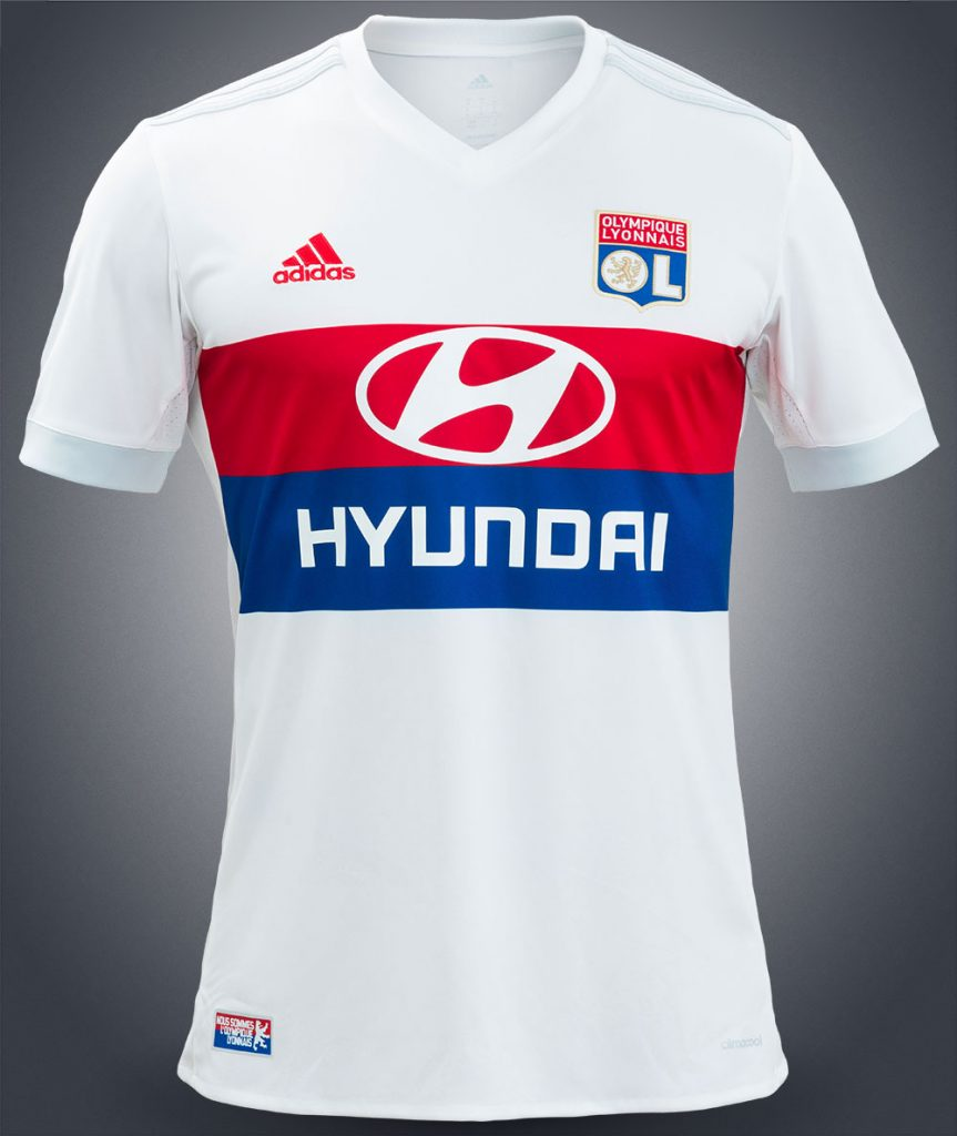 Maillot Domicile Olympique Lyonnais Saison 2017-2018