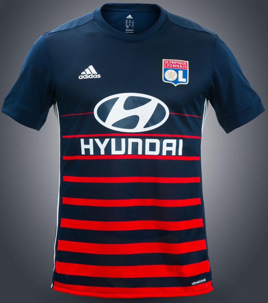 tenue de foot Olympique Lyonnais 2017