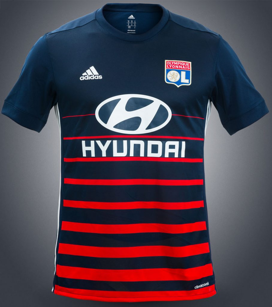 "Maillot Extérieur ""Away"" Olympique Lyonnais Saison 2017-2018"