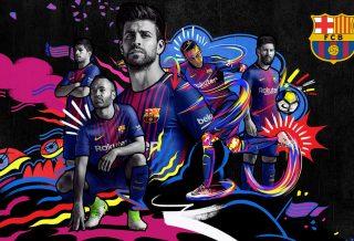 Le Nouveau Maillot du FC Barcelone saison 2017-2018