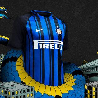 Nouveau Maillot de l'Inter Milan pour la saison 2017-2018