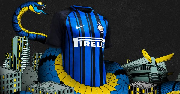 Maillot Nike Inter Milan Domicile 2017-2018