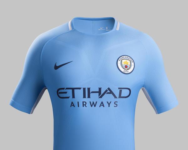 Maillot domicile Manchester City FC - Saison 2017-2018