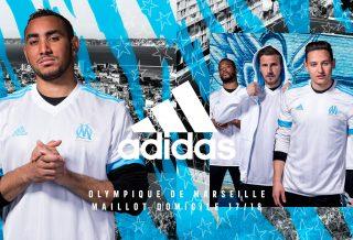 adidas dévoile les maillots de l'OM pour la saison 2017-2018