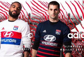 adidas présente les maillots de l'Olympique Lyonnais 2017-2018